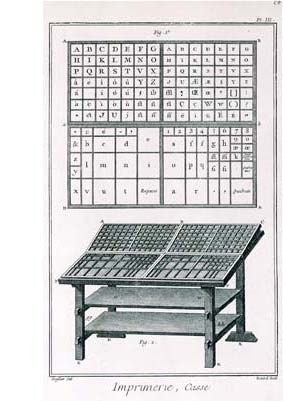 Casse imprimerie